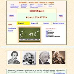 Einstein - sa vie - biographie