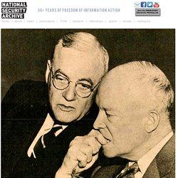 Eisenhower views on fighting communism in Eastern Europe in 1950s