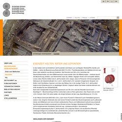 Eisenzeit: Archäologie Schweiz