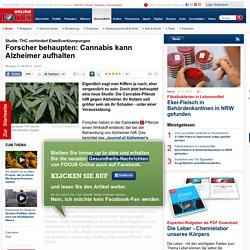 Studie: THC verhindert Eiweißverklumpungen: Forscher behaupten: Cannabis kann Alzheimer aufhalten - News