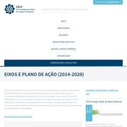 Eixos e Plano de Ação (2014-2020)