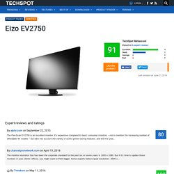 Eizo EV2750 Reviews and Ratings