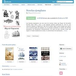Novelas ejemplares - Miguel Cervantes