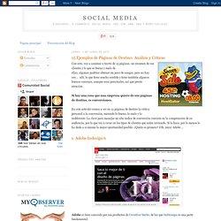Social Media: 15 Ejemplos de Páginas de Destino: Análisis y Críticas