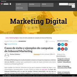 Casos de éxito y ejemplos de campañas de Inbound Marketing