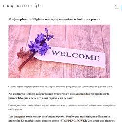 Ejemplos Página Web: 11 Ejemplos de Webs Creativas y que Conectan