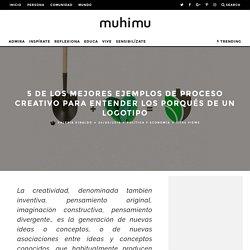 5 de los mejores ejemplos de proceso creativo para entender los porqués de un logotipo - muhimu