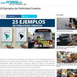 20 Ejemplos de Publicidad Creativa