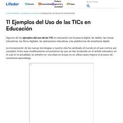 11 Ejemplos del Uso de las TICs en Educación