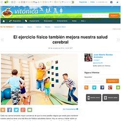 Vitónica - El ejercicio físico también mejora nuestra salud cerebral
