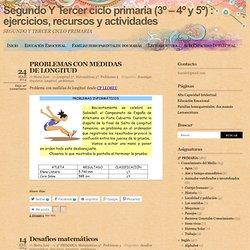 Segundo ciclo primaria (3º y 4º) : ejercicios, recursos y actividades