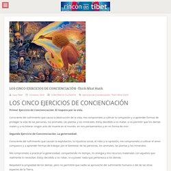 LOS CINCO EJERCICIOS DE CONCIENCIACIÓN -Thich Nhat Hanh