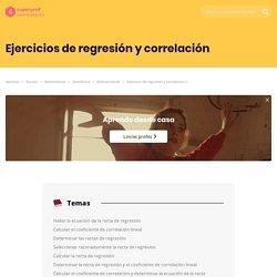 Ejercicios de regresion y correlacion II