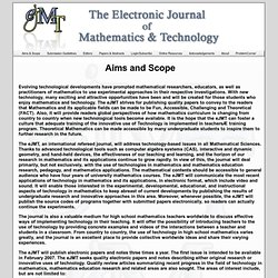 eJMT - Aims & Scope