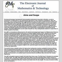 eJMT - Aims & Scope