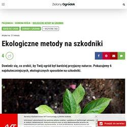Ekologiczne metody na szkodniki