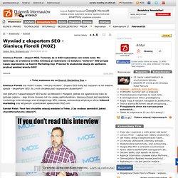 Wywiad z ekspertem SEO - Gianlucą Fiorelli (MOZ) - Wywiad