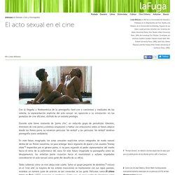 El Acto Sexual en el Cine: