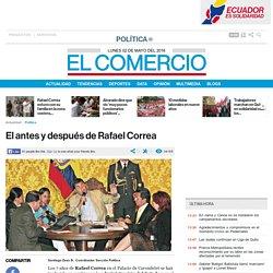 El antes y después de Rafael Correa