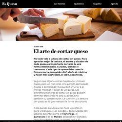 El arte de cortar queso - Es Queso