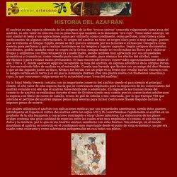 El azafrán: Orígenes e historia.