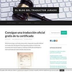 El Blog del traductor jurado