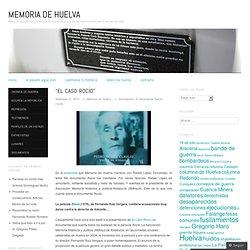 Memoria de Huelva
