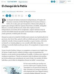 El chasqui de la Patria - 15.07.2013 - LA NACION