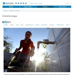 ¿Qué es el derecho al agua?