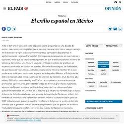 El exilio español en México