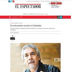 El exterminio social en Colombia