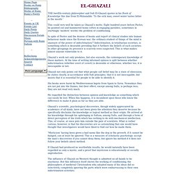 EL-GHAZALI