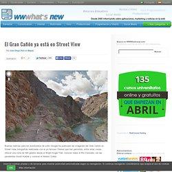 El Gran Cañón ya está en Street View