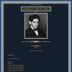 El público. García Lorca