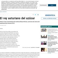 El rey asturiano del azúcar