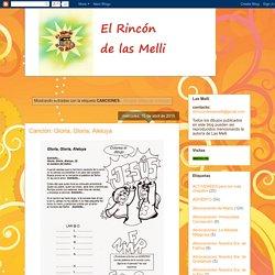 El Rincón de las Melli: CANCIONES
