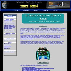 El Robot educativo K-BOT V.2