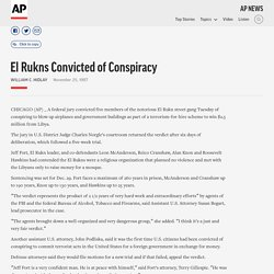 El Rukns Convicted of Conspiracy