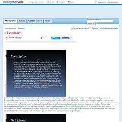 El seminario - Monografias.com