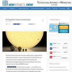 El Sistema Solar en Internet