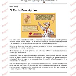 El texto descriptivo