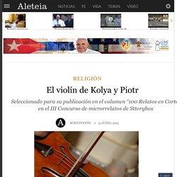El violín de Kolya y Piotr