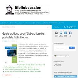 Guide pratique pour l'élaboration d'un portail de Bibliothèque