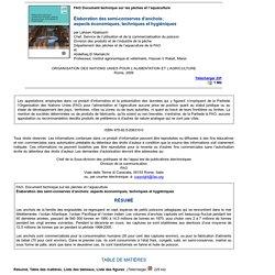 2009 - Élaboration des semi-conserves d'anchois: aspects économiques, techniques et hygiéniques - Chapitre 4. Application