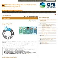 Guide d'élaboration des plans de gestion des espaces naturels