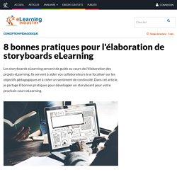 8 bonnes pratiques pour l'élaboration de storyboards eLearning - eLearning Industry