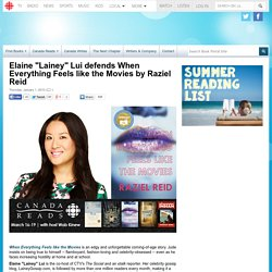 "Elaine ""Lainey"" Lui defends When Everything Feels like the Movies by Raziel Reid"