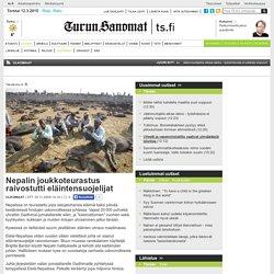 Nepalin joukkoteurastus raivostutti eläintensuojelijat - Ulkomaat