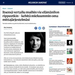 Itsensä vertailu muihin vie elämänilon rippeetkin – kehitä mieluummin oma mittajärjestelmäsi - Elämä - HS.fi