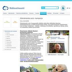 Elämäntaidot esiin -kampanja - Ikäinstituutti.fi